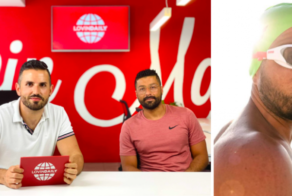Herculean Swimmer Neil Agius Wants Malta To Pick Up One Million Pieces Of Plastic By The End Of Summer