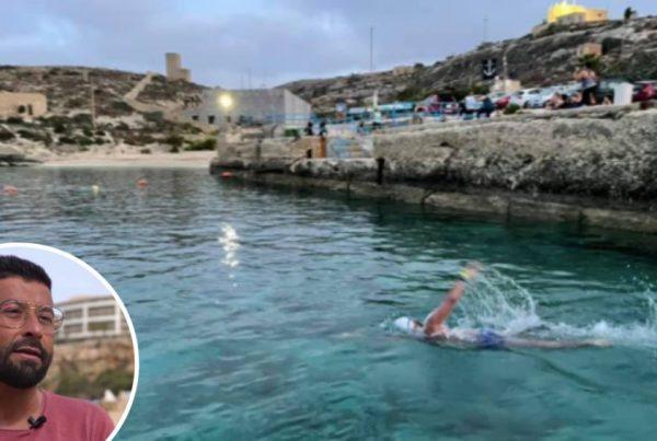 Maltese Swimming Champ Begins Three-Day Challenge Of 12-Hour 'Warm-Ups' Around Gozo